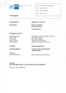 1.Prüfungsplan